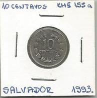 El Salvador 10 Centavos 1993. KM#155a - Salvador