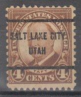 USA Precancel Vorausentwertung Preo, Bureau Utah, Salt Lake City 685-61 - Vereinigte Staaten