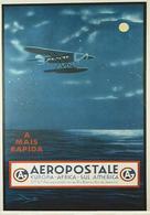Brazil Aviation Postcard Aeropostale 1930 - Reproduction - Advertising