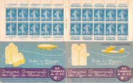 FRANCE - Carnet Série 97 Neuf - 30c Semeuse Bleu IIB - YT 192 C5 / Maury 56 - Carnets