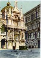 VENEZIA  Cortile Di Palazzo Ducale  Acquerello Di G. Grossi - Venezia