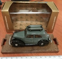 Auto BALILLA Fiat 508 C Cars Brumm Model 1937 / 38 Metano Gas Voitures Miniatures - Brumm