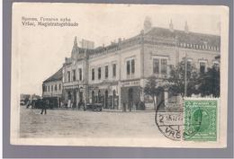 SERBIA Vršac Magistratsgebäude Ca 1920 OLD POSTCARD 2 Scans - Serbien