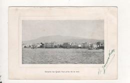 Smyrne Les Quais Vue Prise De La Mer Signer Marius Germakian - Turquie