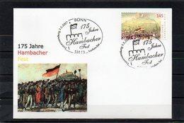 Deutschland, 2007, FDC (individuell) Mit Michel 2605, Erstverwendungsstempel, 175 J. Hambacher Fest - FDC: Brieven