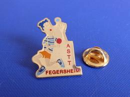 Pin's ASPTT Fegersheim - Ping Pong Tennis De Table - La Poste PTT (PK8) - Table Tennis