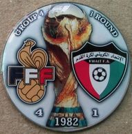 Pin FIFA World Cup 1982 Group 4 Round 1 France Vs Kuwait - Fútbol