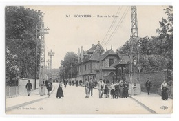(20854-27) Louviers - Rue De La Gare - Louviers