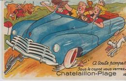 """17 ( CHATELAILLON PLAGE """" A Toute Pompe.... """" ) - A Systèmes"""