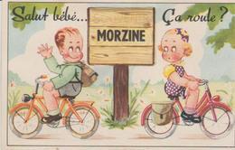 """74 ( MORZINE """" Salut Bebe Ca Roule ... """" ) - A Systèmes"""