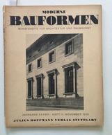 Speer A Die Neue Reichskanzlei In Berlin Moderne Bauformen Heft 11 November 1939 - Livres, BD, Revues