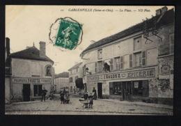 DE1532 - FRANCE - GARGENVILLE - LA PLACE - SHOP VIEW - Gargenville