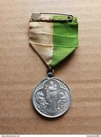 Medaille Religieuse - Religion ésotérisme: Marie Vierge à L'enfant Et Saint Jean - Religión & Esoterismo