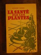 LOT 6 LIVRES    MESSEGUE  RIKA ZARAI MICHEL OLIVER MABEY LA SANTE PAR LES PLANTES BOURDIN - Lots De Plusieurs Livres