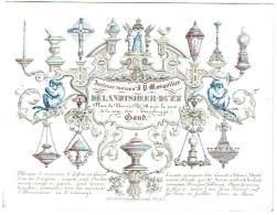 De Landsheer - Duez Ancienne Maison J.P. Masquilier Place Du Marais, N°18, Près Le Pont De La Tour, Dite (Torenbrugge) - Publicité
