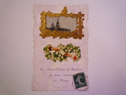 SAINT-PIERRE-de-BAILLEUL  (Eure)  :  Carte Fantaisie Originale   XXX - France