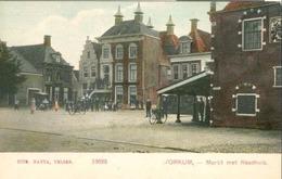 Workum; Markt Met Raadhuis - Niet Gelopen. (Nauta, Velsen) - Workum