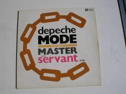 """MAXI - DEPECHE MODE  - MUTE 311093  """" MASTER & SERVANT """" + 2 - 45 Rpm - Maxi-Single"""
