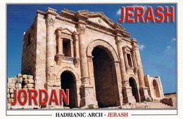1 AK Jordanien Jordan * Der Hadriansbogen Im Antiken Jerash (auch Gerasa) Eine Antike Römische Stadt * - Jordanien
