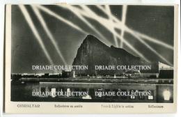 CARTOLINA GIBILTERRA REFLECTORES EN ACCIOS GIBRALTAR VIAGGIATA - Gibilterra