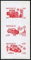 Monaco 2001  Proof MNH AUTOMOBILES  MODE Ferrari Citroen Fiat - Voitures