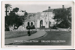 CARTOLINA GIBILTERRA GIBRALTAR VIAGGATA ANNO 1955 - Gibilterra