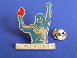 Pin's Montpellier Le Cress TT - Ping Pong Tennis De Table (PK21) - Table Tennis