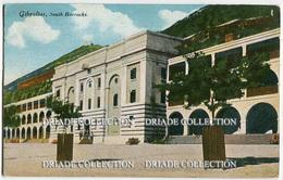 CARTOLINA GIBILTERRA SOUTH BARRACKS GIBRALTAR - Gibilterra