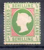 HELIGOLAND N° 6 SG - Heligoland (1867-1890)