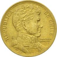 Monnaie, Chile, 10 Pesos, 1996, Santiago, TTB, Aluminum-Bronze, KM:228.2 - Chile
