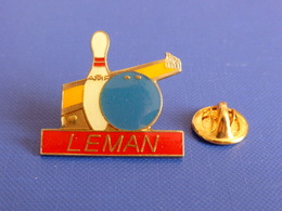 Pin's Bowling Leman - AMF - Piste Boule Suisse (PU27) - Bowling