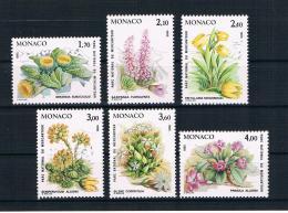 Monaco 1985 Pflanzen Mi.Nr. 1683/88 Kpl. Satz ** - Nuevos