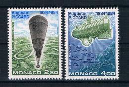 Monaco 1984 Piccard Mi.Nr. 1631/32 Kpl. Satz ** - Monaco