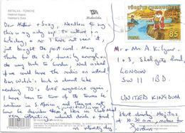Turkey 2008 Antalya Writer Author Nasreddin Hodja Comic Viewcard - 1921-... Republiek