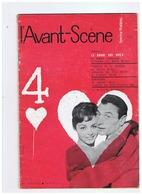 THEATRE DES VARIETES LA BRUNE QUE VOILA AVEC ROBERT LAMOUREUX 1958 - Théatre & Déguisements