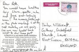 Turkey 2012 Mugla Women Rights Viewcard - Brieven En Documenten