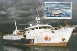 TAAF  Carte Maximum FDC  1/1/2006 - Osiris - Bateau - French Southern And Antarctic Territories (TAAF)