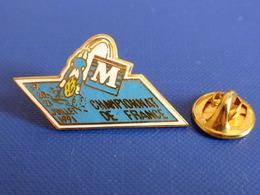 Pin's Natation - Championnat De France - 19 20 21 Juillet 1991 - Metz (PQ35) - Swimming