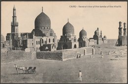 General View Of The Tombs Of The Khalifs, Cairo, C.1910 - CL Postcard - Cairo