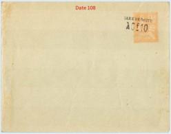 Entier FRANCE - Enveloppe Date 108 Neuf ** - 10c/15c Mouchon Primitif Orange - Postal Stamped Stationery