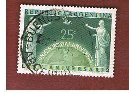 ARGENTINA - SG 812 - 1949 U.P.U. 75^ ANNIVERS.     - USED ° - Argentina