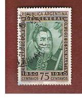 ARGENTINA - SG 817 - 1950 SAN MARTIN' S DEATH CENTENARY     - USED ° - Argentina