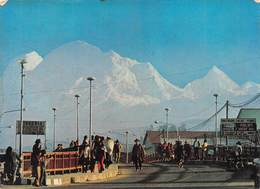 """08432 """"PERU' VISTA DEL HUASCARAN DESDE EL PUENTE DE QUILCAY ALT.6768 MTS.""""   ANIMATA. CART  SPED 1985 - Perù"""