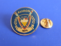 Pin's Club Aviron Reims CNR - 1876 (PQ16) - Aviron