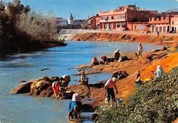 "08433 ""MAROCCO - KHENIFRA - OUED OUM-ER-REBIA""   ANIMATA, FOTO ITTAH. CART  NON SPED - Marocco"