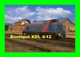 AL 145 - Loco BB 4802 En Gare De SEZANNE - Marne - SNCF - CFTA - Sezanne