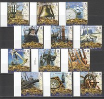 A563 PITCAIRN ISLANDS SHIPS & BOATS HMS BOUNTY !!! MICHEL 35 EURO SET MNH - Ships
