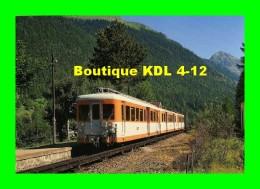 AL 165 - Automotrice Z 600 En Gare - LE BUET Commune De VALLORCINE- Haute Savoie - SNCF - Other Municipalities