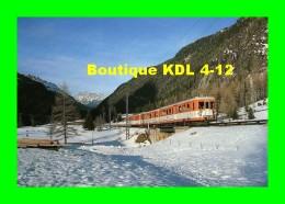 AL 166 - Automotrice Z 607 - LE BUET Commune De VALLORCINE - Haute Savoie - SNCF - Other Municipalities
