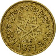 Monnaie, Maroc, Mohammed V, 10 Francs, 1951, Paris, TTB, Aluminum-Bronze, KM:49 - Marruecos